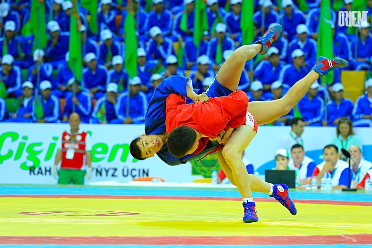 Turkmen sambo wrestlers won seven more medals at the World Cup in Moscow