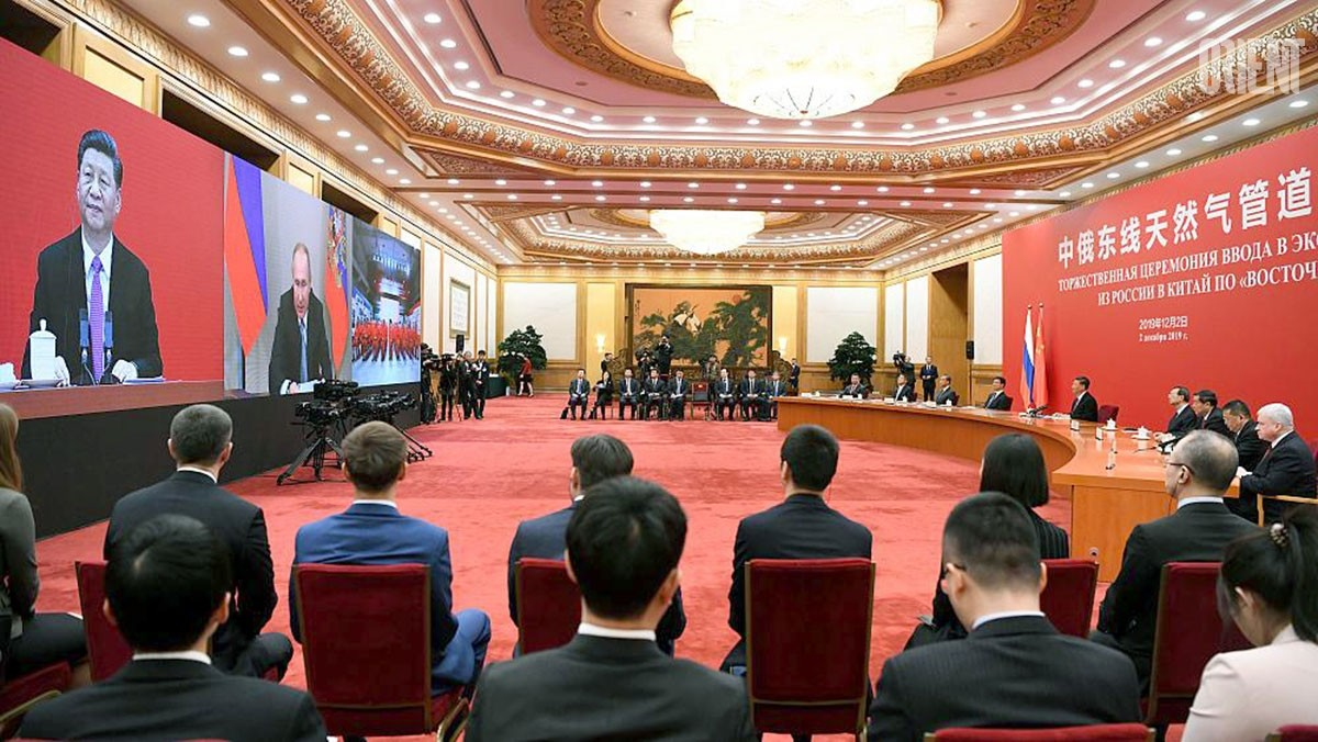 Russia joined Turkmenistan in delivery of pipeline gas to China