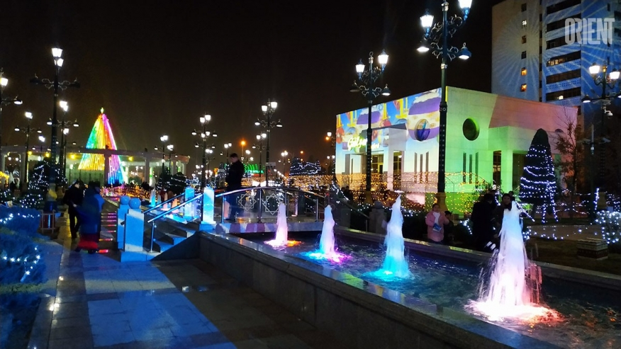 New Year Express is already in Ashgabat