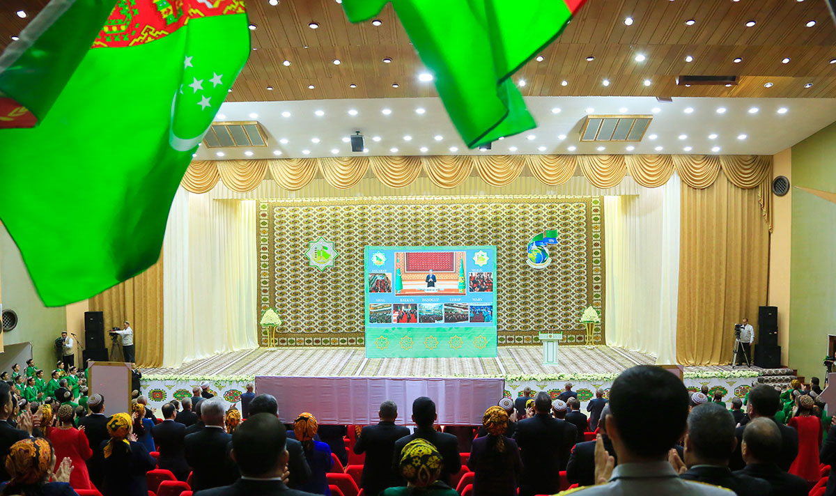Meeting of People's Council of Turkmenistan/2020  - photo and video