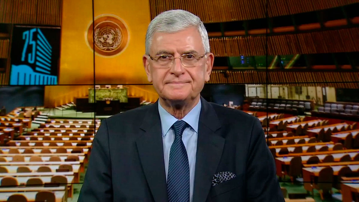 President of the 75th session of the UN General Assembly Volkan Bozkir thanks Turkmenistan for the initiative