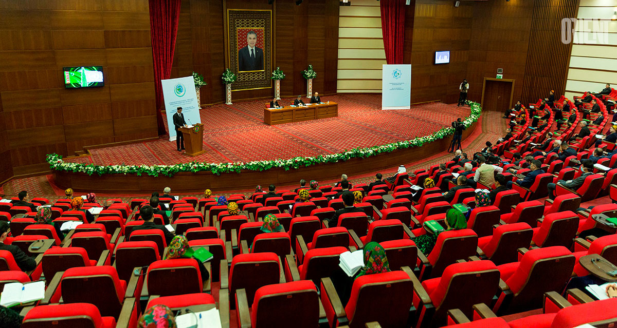 A conference dedicated to the Day of Diplomatic Workers of Turkmenistan held in Ashgabat
