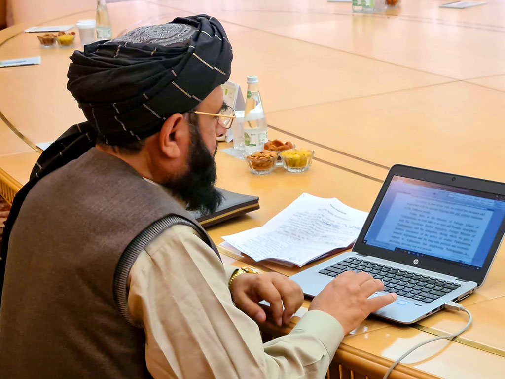 Ashgabat talks with the Taliban: our photo report