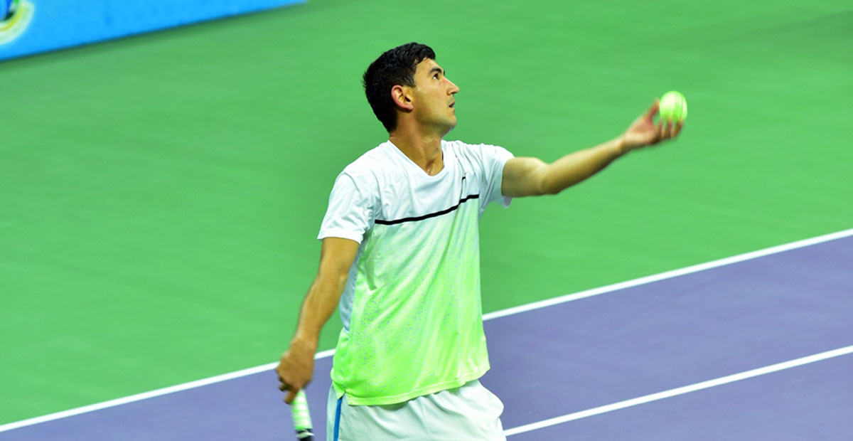 The Turkmen tennis player is aimed at victory in the Davis Cup stage