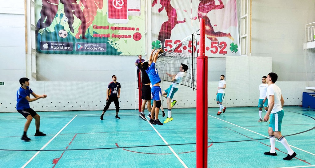 Turkmen students have successfully performed in the volleyball tournament in Chuvashia
