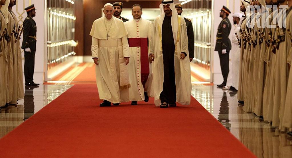 Продолжается исторический визит Папы римского Франциска в ОАЭ