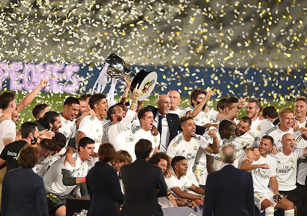 «Реал» стал чемпионом Испании впервые за три года
