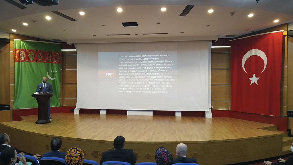 Телеканал ТРТ в Туркменистане презентовал фильм «Жемчужный город Ашхабад»