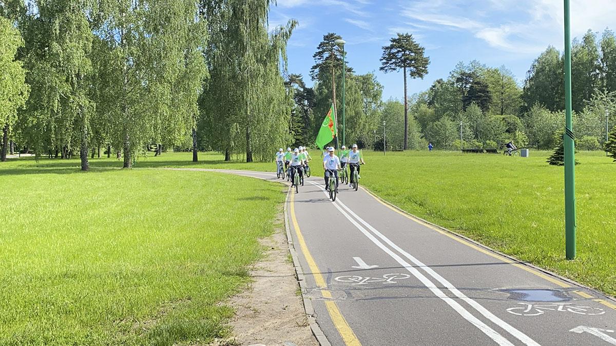 Туркменское посольство в Минске организовало велопробег