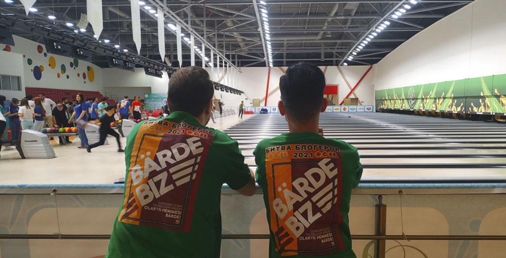 В Ашхабаде определились победители турнира по боулингу среди звезд и спортсменов