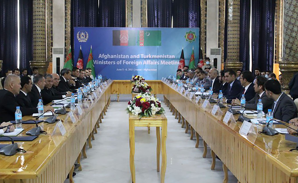 Министры иностранных дел Туркменистана и Афганистана встретились в Герате