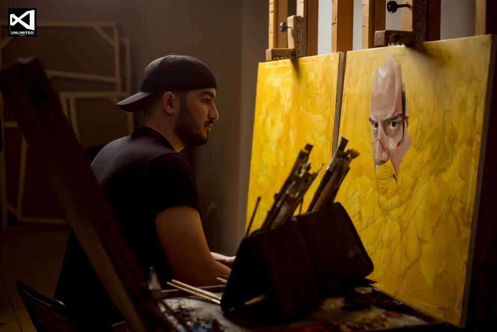 Художник из Туркменистана набрал более 4 миллионов просмотров на YouTube