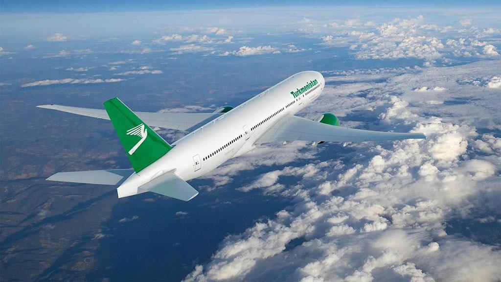Авиакомпания «Туркменистан» увеличила количество внутренних авиарейсов