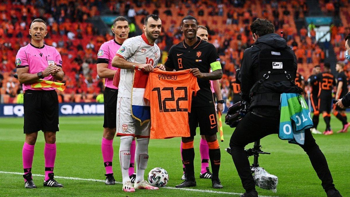 Евро-2020: Македония уступила Нидерландам в прощальном матче Пандева, Австрия обошла Украину