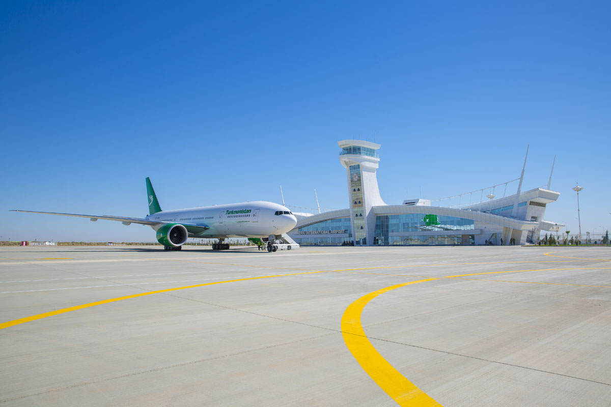 В Туркменистане открылся новый международный аэропорт – в городе Керки