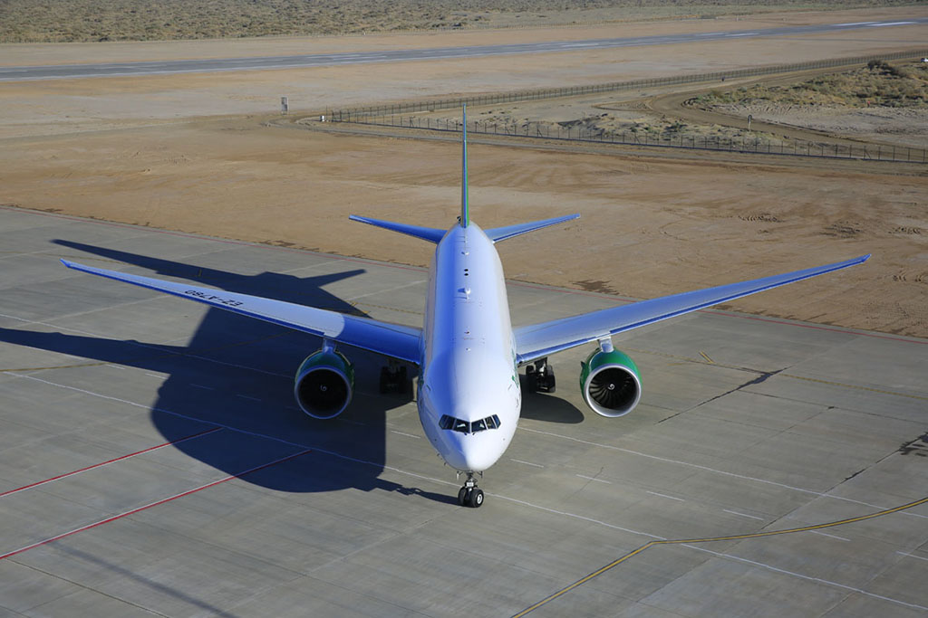 Аэропорт Керки получил международный сертификат соответствия и код ICAO