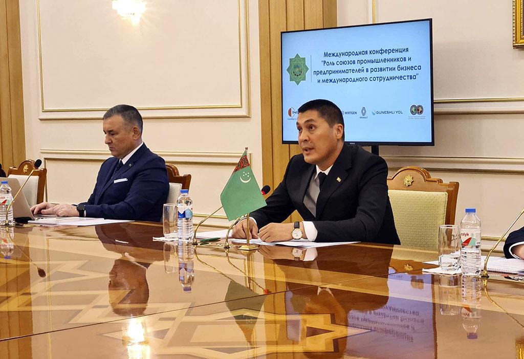 Началась международная конференция Союза промышленников и предпринимателей Туркменистана