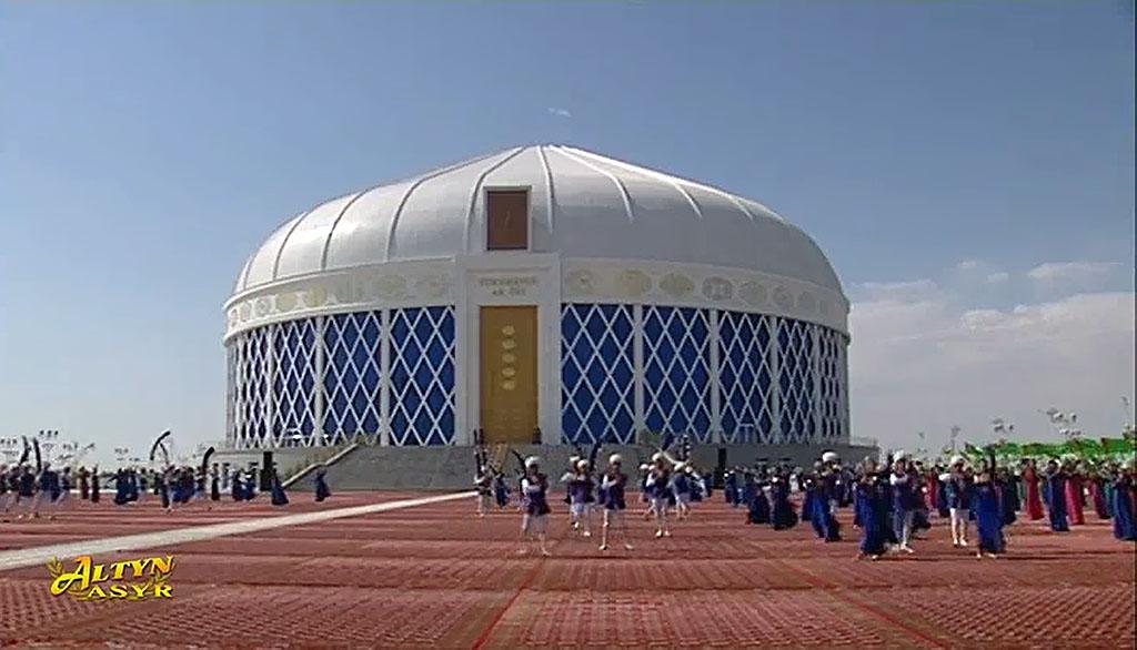 В Дашогузе открылась «Туркменская белая юрта» – символ и мультиформатная площадка