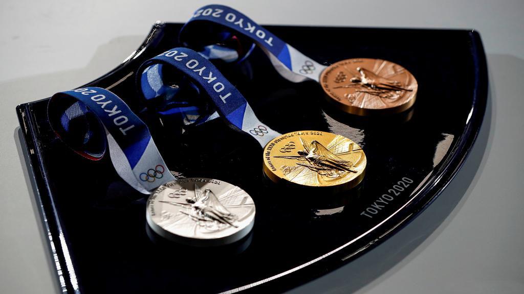 Первые медали Токио-2020