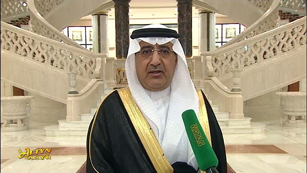 Глава Туркменистана принял нового посла Саудовской Аравии