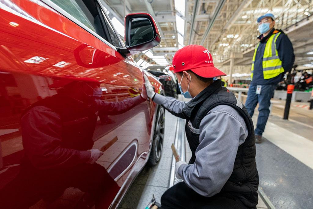 China emerges as major export hub of Tesla vehicles