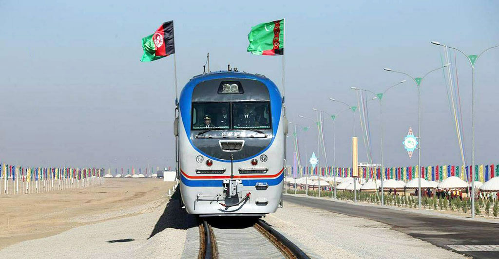 Turkmenistan on the list of the ten largest trading partners of Afghanistan