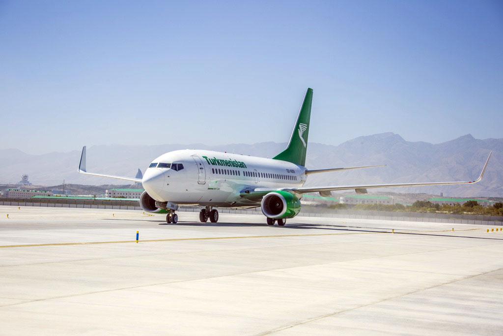 Авиакомпания «Туркменистан» опубликовала расписание внутренних рейсов с 1 августа