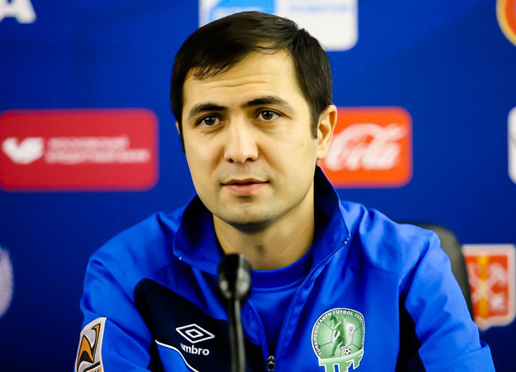Ахмед Агамурадов – новый главный тренер молодежной сборной Туркменистана