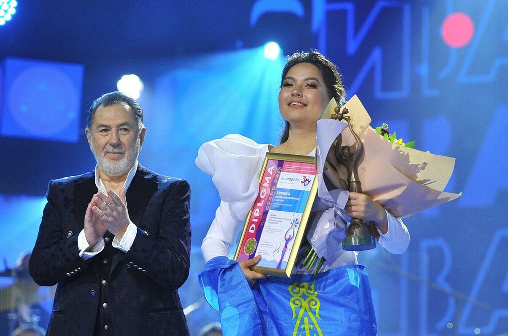 "Owner of the Grand Prix ""Slavianski Bazaar-2021"" from Kazakhstan will perform in Avaza"