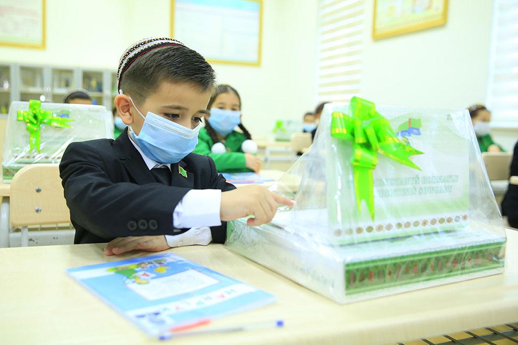 1 сентября школьники Туркменистана отметят День знаний