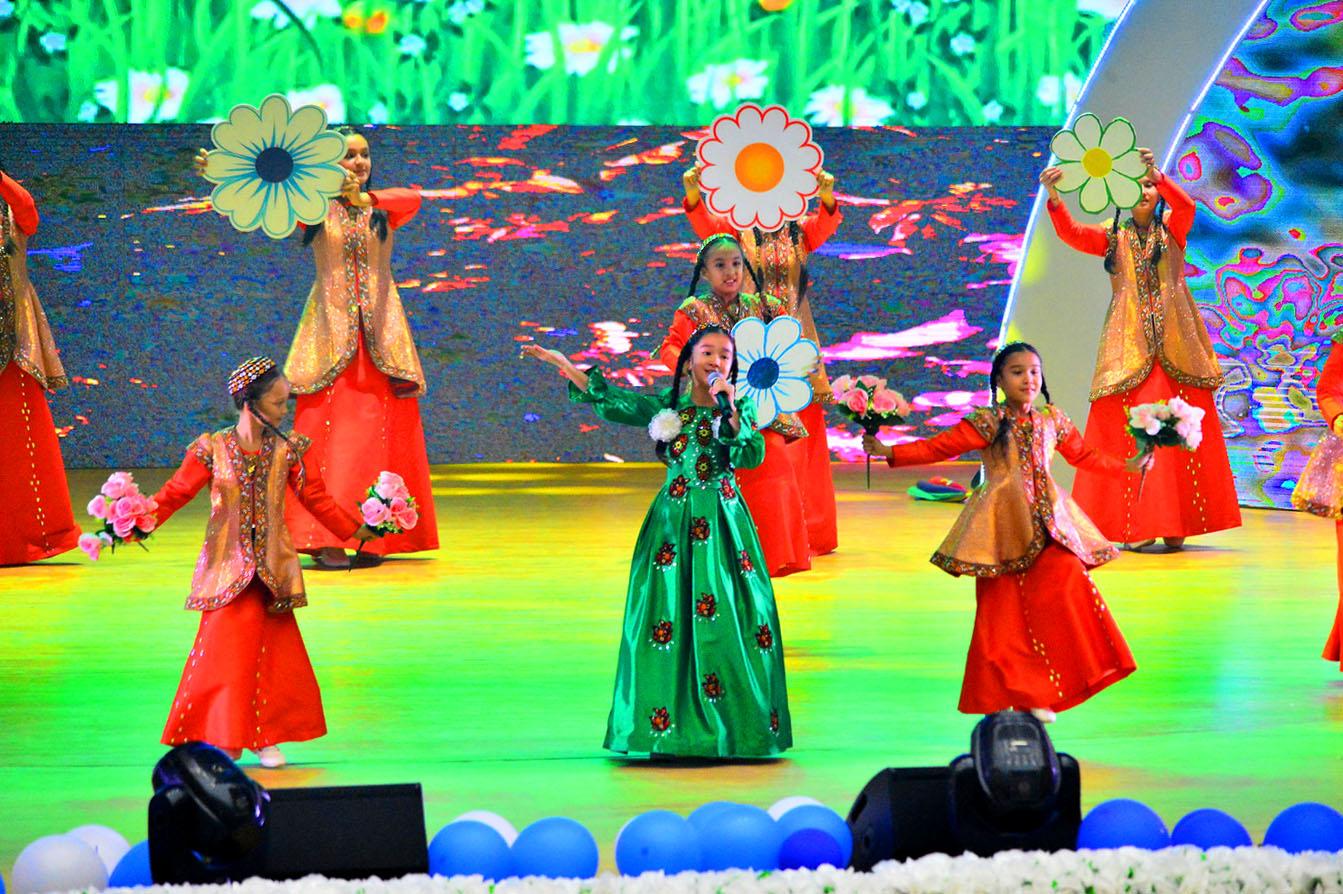 Гала-концертом финишировал детский музыкальный фестиваль «Жемчужинки независимости»