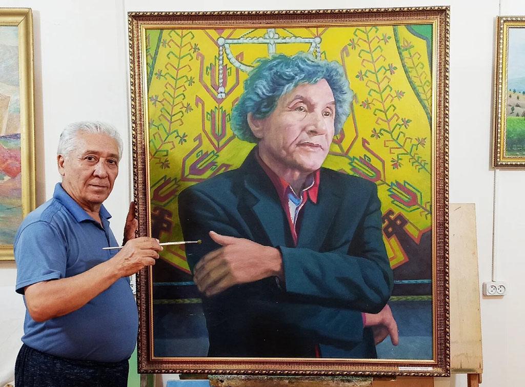 Мастер портретного жанра в живописи Туркменистана: виртуальная галерея