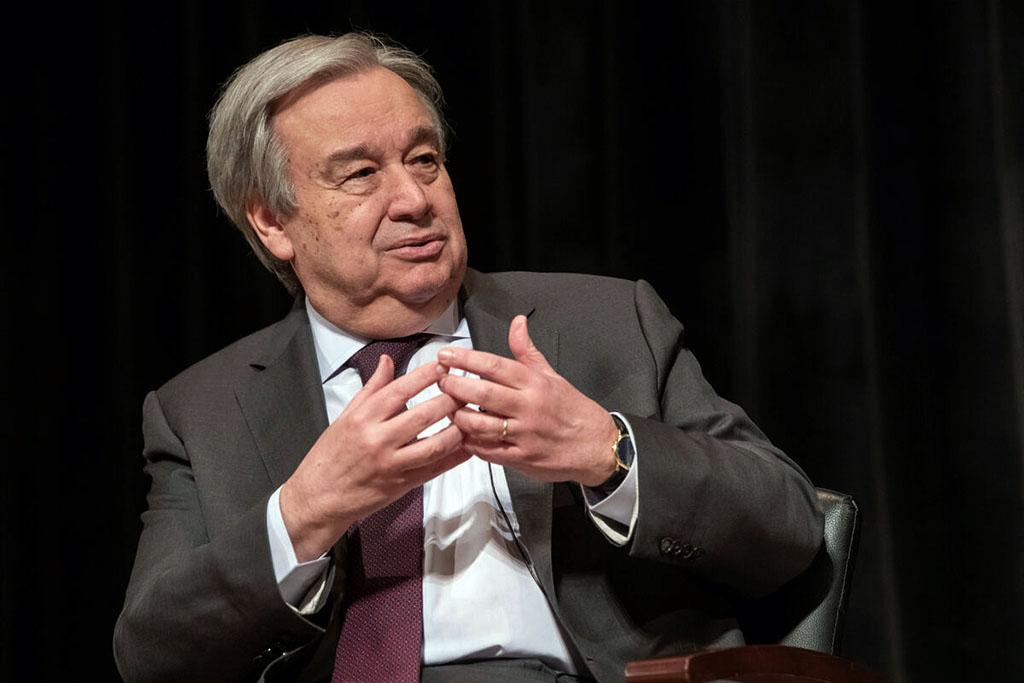 Генсек ООН выступил за диалог с «Талибаном»