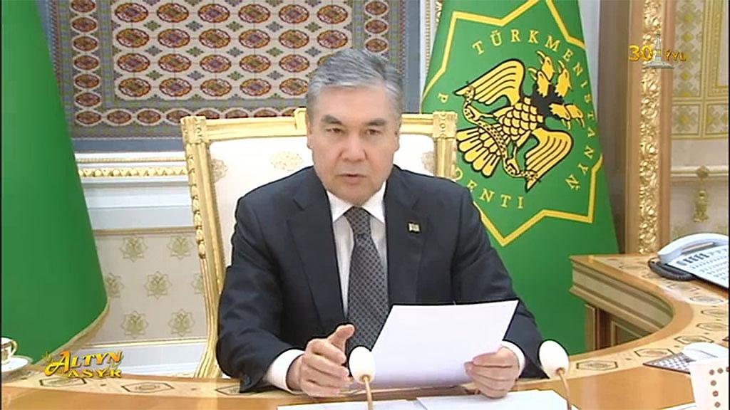Бердымухамедов: рост ВВП в Туркменистане составил 6,2%