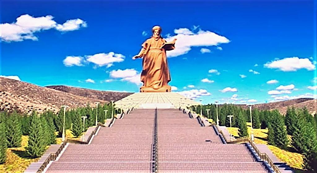 Мемориал Махтумкули в предгорьях Копетдага готовится к открытию