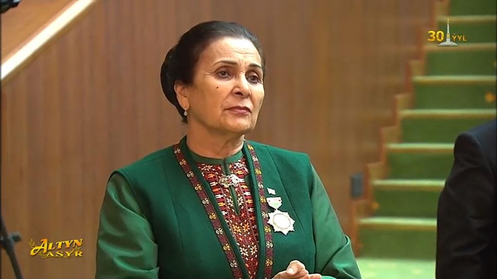 Послу Чинар Рустемовой присвоено звание «Герой Туркменистана»