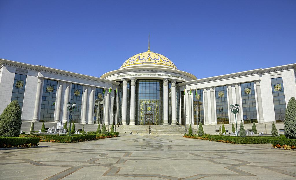 Один день из жизни высшей дипломатической школы Туркменистана