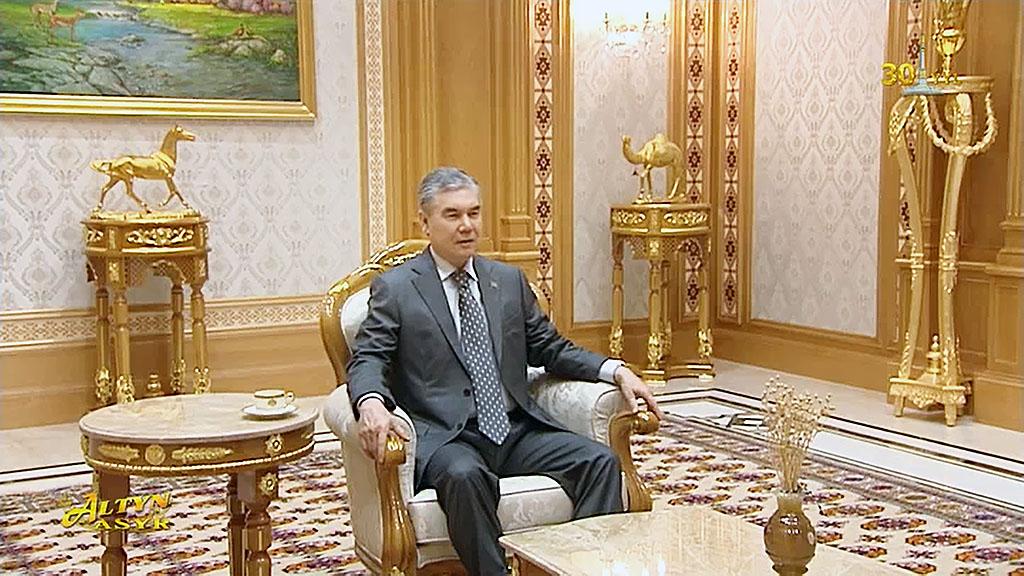 Президент Бердымухамедов принял руководителей крупных компаний-партнеров Туркменистана