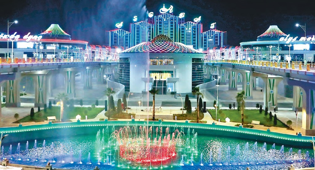 UIET members constructed a multipurpose project, unique for the region in Ashgabat