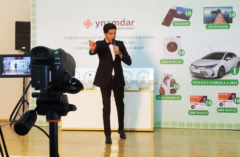 Интернет-магазин Ynamdar разыграл в лотерее автомобиль и 100 других ценных призов