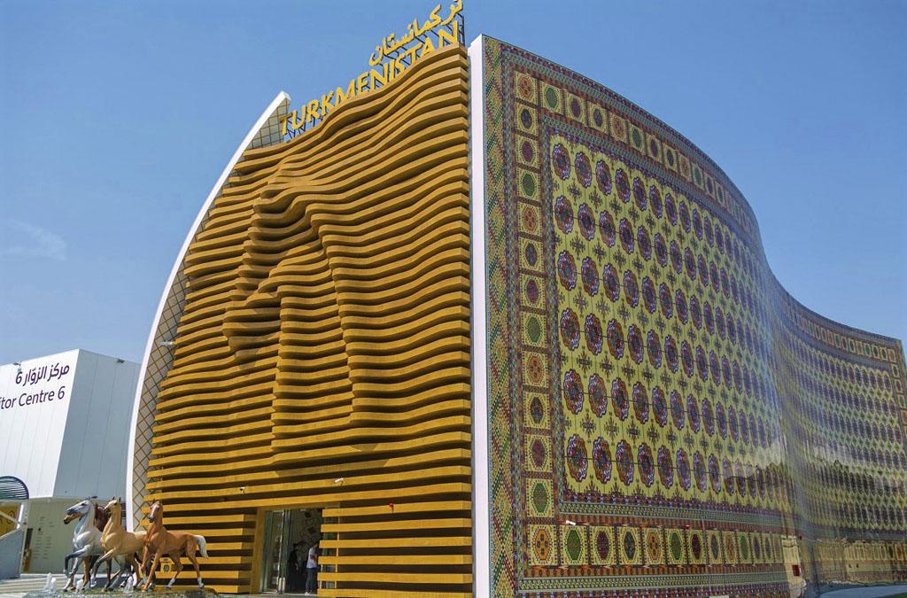 Туркменский павильон на ЭКСПО-2020 в Дубае - фоторепортаж