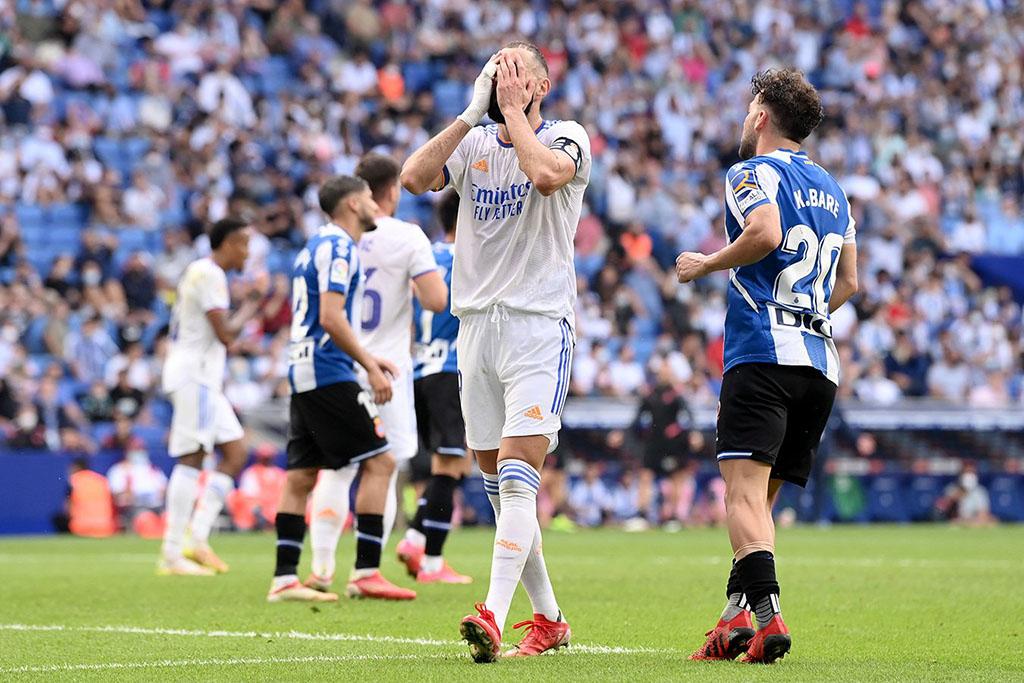 «Реал Мадрид» потерпел поражение от «Эспаньола»