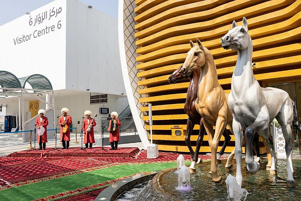 Национальный день Туркменистана прошел на Expo 2020 Dubai при участии Бердымухамедова