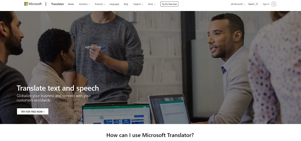 Microsoft Translator добавила туркменский язык в свой репертуар